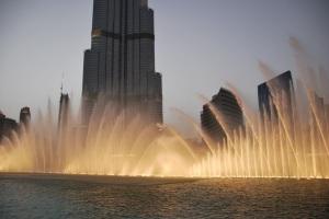 Show das águas dançantes, é uma atração que todos os turistas querem ir... É muito lindo gente, um espetáculo de água, luzes...